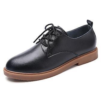Kvinder ægte læder lace up sko