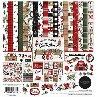 Carta Bella Boerderij Kerstmis 12x12 Inch Collection Kit