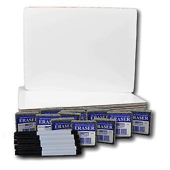 "Magnetic Dry Erase Board Class Pack, 9"" X 12"", Set von 12"