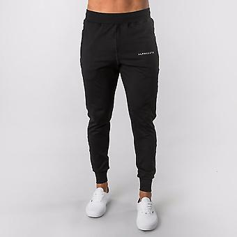 Men's Alphalete Jogger Sweatpants, Gyms Workout Fitness Cotton Pants, Casual