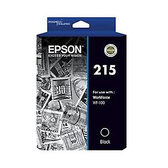 Epson 215 Pigment Black Ink For Workforce Wf 100