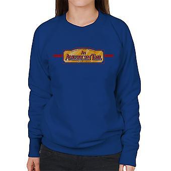 Ein amerikanischer Schwanz a Don Bluth Film Logo Frauen's Sweatshirt