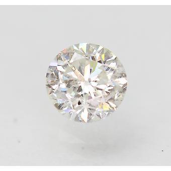 Sertifioitu 0,53 karat F VS2 pyöreä brilliant parannettu luonnollinen löysä timantti 4,96mm