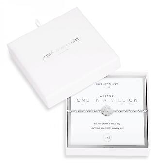 Joma Jewellery A Littles One In A Million Silver 17.5cm Stretch Bracelet 3536