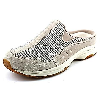 Easy Spirit Womens Traveltime Leather Low Top Slip On Walking Shoes