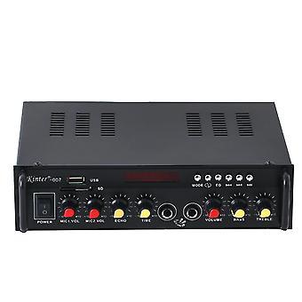 קינטר 007 2 ערוץ 60W Bluetooth מגבר כוח AMP סטריאו עם מגבר דיגיטלי שלט רחוק