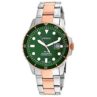 Fossil Men's FB-01 Green Dial Watch - FS5743