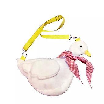 Adult Kid Duck Plush Purse, Cartoon, Animals Shape, Crossbody Shoulder