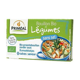 Salt-free vegetable broth in cubes 72 g