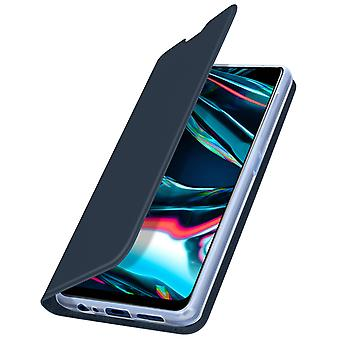 Cover Realme 7 Pro Function Video Holder Dux Ducis dark blue
