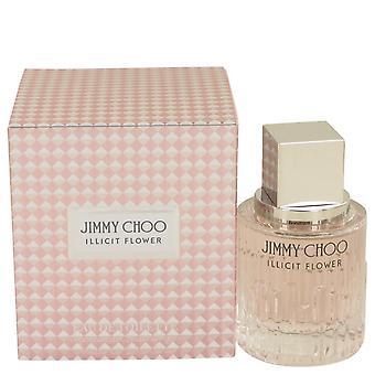 Jimmy choo illicit flower eau de toilette spray by jimmy choo 536738 38 ml