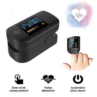 Promise fingertip pulse spo2 oximeter blood oxygen saturation meter finger pr