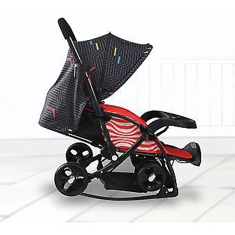 Snow Ski Sledge Baby Stroller, Directions Easy Fold Flat Widening Stroller