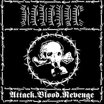 Revenge - Attack.Blood.Revenge [Vinyl] USA import