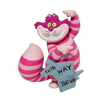 Disney Showcase Cheshire Cat 'This Way, That Way' Figurine