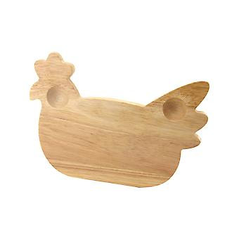 Apollo Wooden Breakfast Board, Chicken
