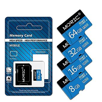 High-speed Class10 Memory Card, 4gb With Free Adapter