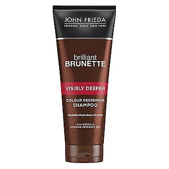 Colour Revitalizing Shampoo Brilliant Brunette John Frieda (250 ml)