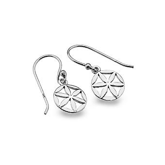 Sterling Silver Earrings - Origins Flower Of Life