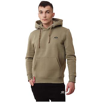 Alpha Industries Basic Hoody Small Logo 19631811 sweat-shirts pour hommes universels