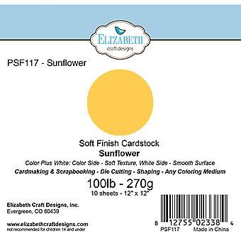 Elizabeth Craft Designs - Soft Finish Cardstock Sunflower