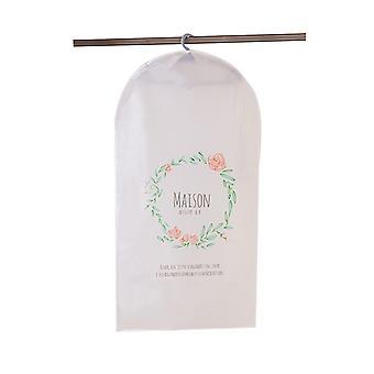 Cubierta contra el polvo de la ropa, almacenamiento ligero de la cubierta del traje transparente a prueba de polvo, bolsa de la prenda para el almacenaje de la ropa del armario