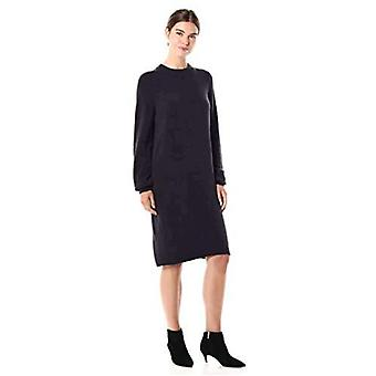 Brand - Daily Ritual Women's Mid-Gauge Stretch Crewneck Sweater Dress