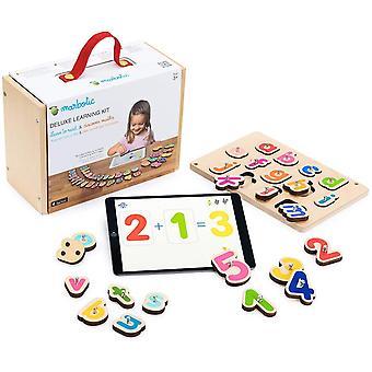 HanFei - Deluxe Learning Kit fr iPad - Alter 3-5 Jahre - Interaktives Zahlen- und Buchstaben-Set aus