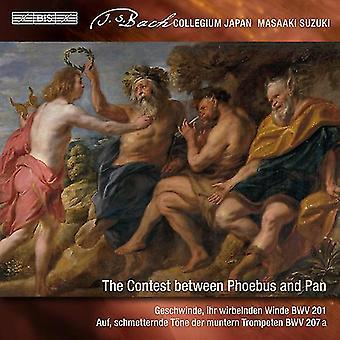 Bach*J.S. / Suzuki / Suga - Secular Cantatas 9 / Contest Between Phoebus & Pan [SACD] USA import
