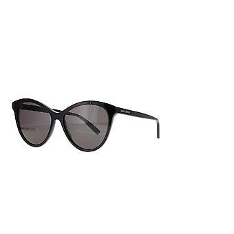 Saint Laurent SL 456 001 Musta/Harmaa Aurinkolasit