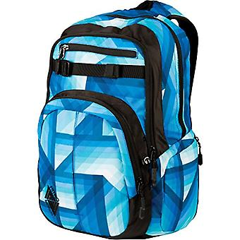 Nitro Snowboards 2018 Casual Backpack, 51 cm, 35 liters, Blue (Geo Ocean)