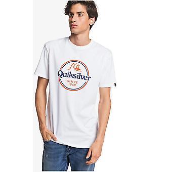 Quiksilver sanat pysyvät lyhythihainen t-paita valkoinen