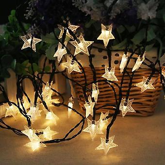 Lampada solare Stella Led String Fairy Light