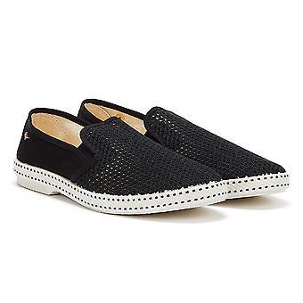 Rivieras Classic 20 Mens Black Shoes