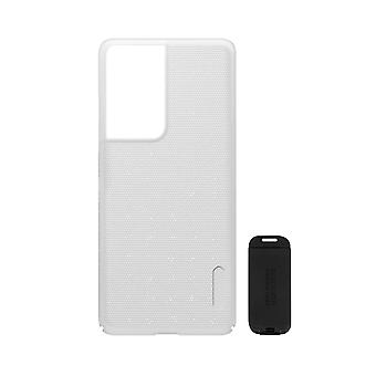 Cover Samsung S21 Ultra Video Holder Super Frosted Shield Nillkin White