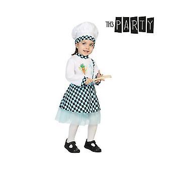 Costume per bambini Chef femminile (3 pezzi)