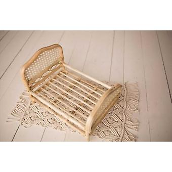 Photography Props, Weaving Baskets Baby Photo Bed