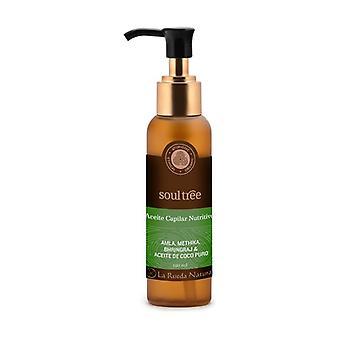 Nourishing hair oil: bhringraj, amla and coconut 120 ml of oil
