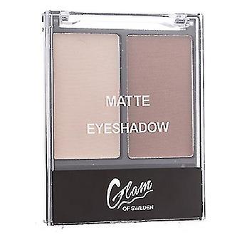 Eye Shadow Palette Matte Glam Of Sweden 02-jord (4 g)
