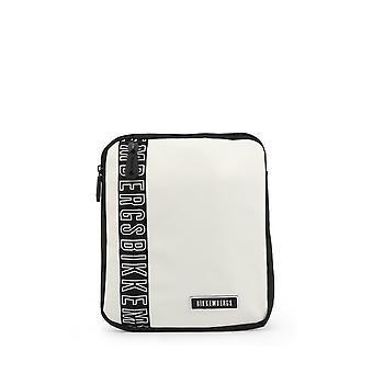 Bikkembergs - Bags - Shoulder Bags - E2APME170032010-White - Men - white,black