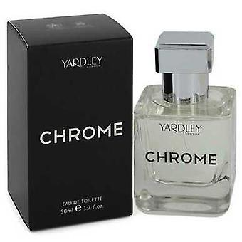 Yardley Chrome By Yardley London Eau De Toilette Spray 1.7 Oz (men)