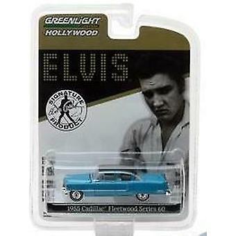 Elvis 1955 Cadillac Fleetwood Série 60 1:64 Échelle Greenlight 44760A