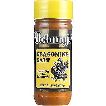Johnnys Fine Foods Sel de Ssnng, Cas de 6 X 4,75 Oz