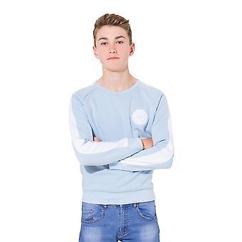 Hype Childrens/Kids Unisex Side Stripe Crest Crewneck Sweatshirt