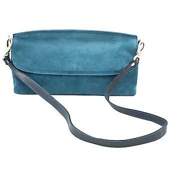 Kennel Und Schmenger Fold Over Retro Inspired Clutch Handbag With Removable Strap