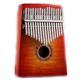 Kalimba Thumb Piano 17 Teclas Instrumento Musical Portátil para Performance