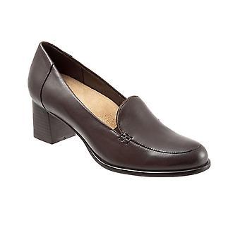 Trotters Womens Quincy Slip On Heel Pumps