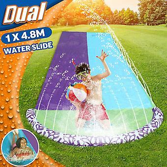 Børn Kids Soak N Splash 16 'Aqua Garden Vandrutsjebane Spray Sprinker Pool Legetøj