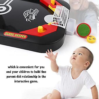 2-in-1 Mini Football Board Matchs Game Kit Tabletop Soccer Toys For Kids Parent-child