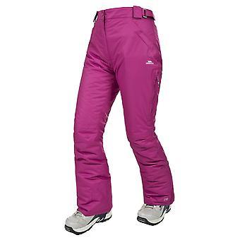 Trespass senhoras Lohan impermeável acolchoado calças de esqui